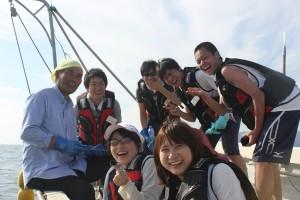 131003 ボラ募集浜へ行こう①笑顔(第3回)