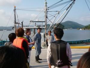 141002 ③漁業体験