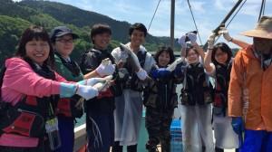 150611 ②佐須浜漁業体験