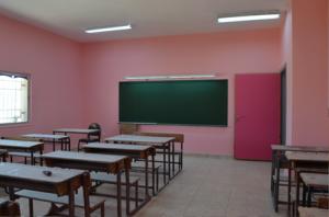 修繕した教室