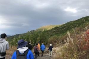 丸森町山間地の視察の様子