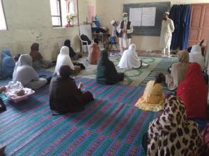 9月6日に実施した女性教員育成研修の様子